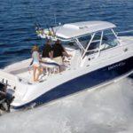 charter motor boat bahamas