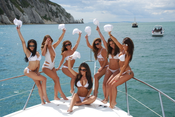 Bachelorette Yacht Party